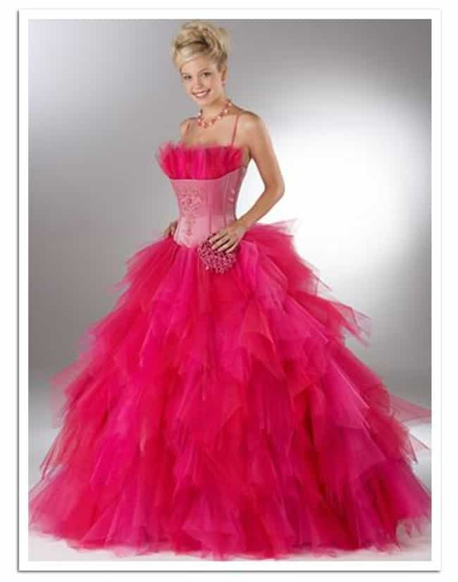 Ugly Prom Dresses List Of Worst Prom Fashion Disasters