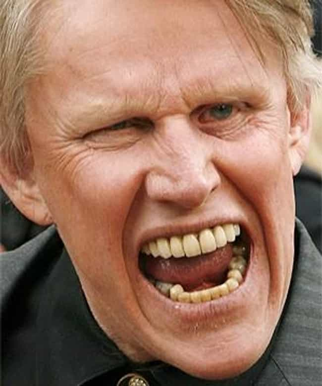 Gary Busey Kicks Lead Actor of... is listed (or ranked) 3 on the list The 13 Most Insane Things Gary Busey Has Ever Done