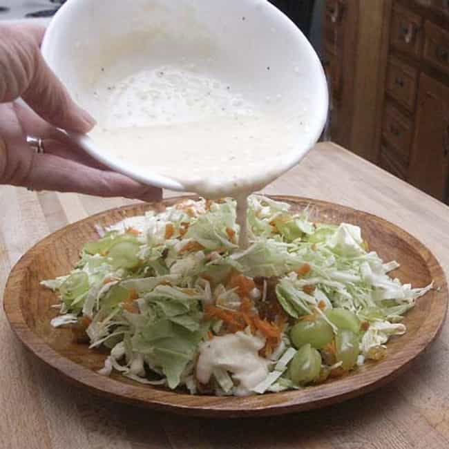 Vinegry Coleslaw Dressing is listed (or ranked) 4 on the list St. Hubert Recipes
