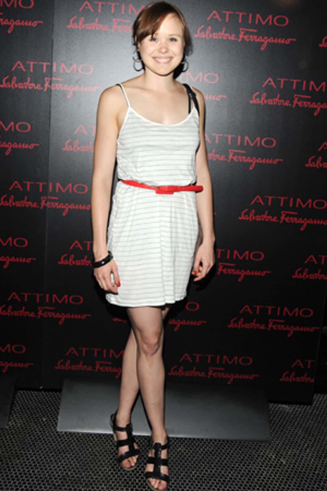 Alison Pill in Belted Mini Dre is listed (or ranked) 2 on the list Hottest Alison Pill Photos