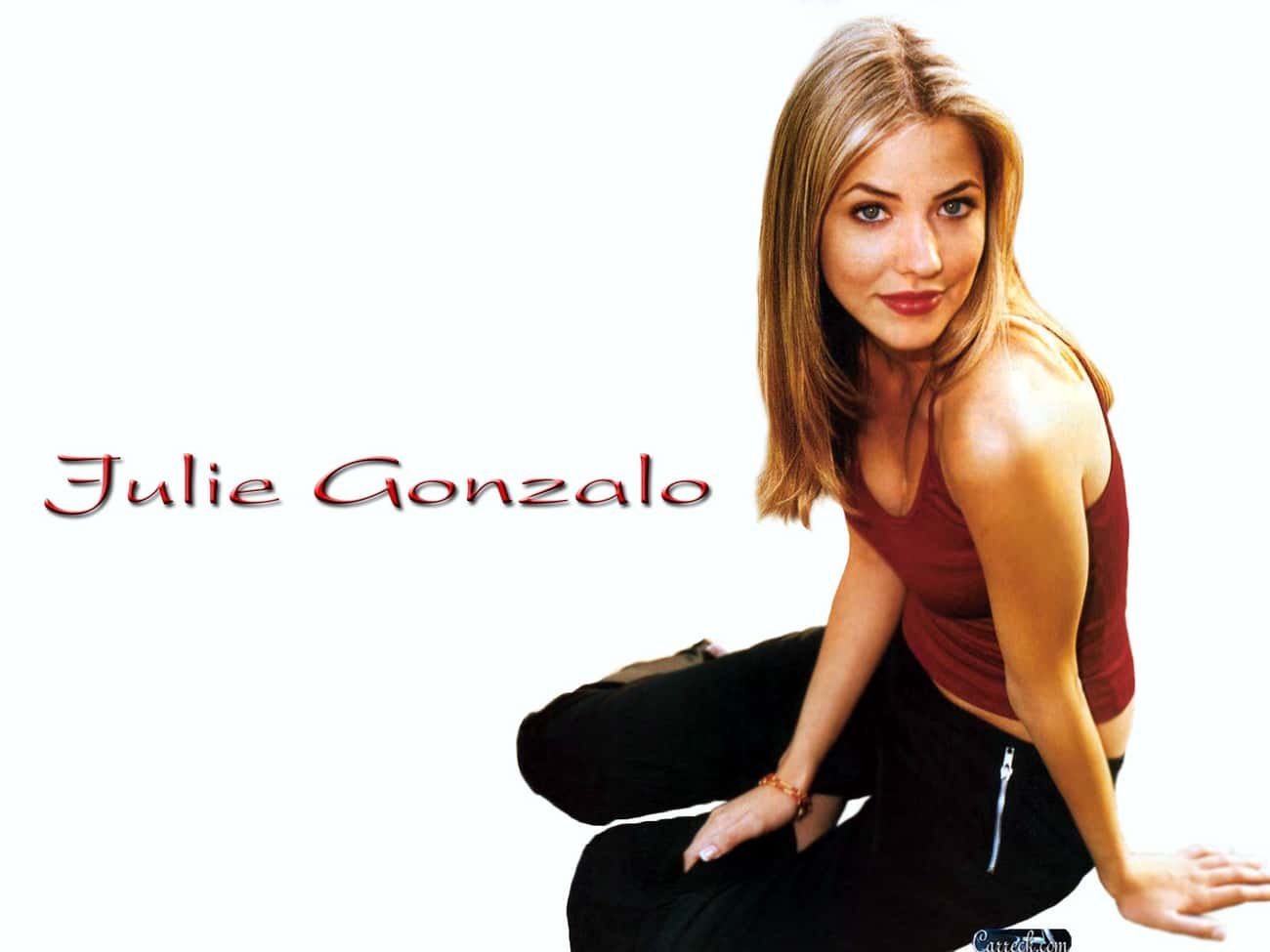 Julie Gonzalo in Tank Top with is listed (or ranked) 2 on the list Hottest Julie Gonzalo Photos