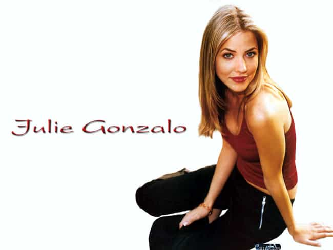Julie Gonzalo in Tank Top with... is listed (or ranked) 2 on the list Hottest Julie Gonzalo Photos