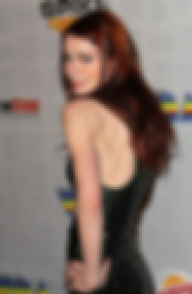 Felicia Day in Shimmering Blac... is listed (or ranked) 4 on the list Hottest Felicia Day Photos