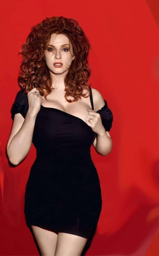 Christina Hendricks Reveals 10 is listed (or ranked) 7 on the list 38 Sexiest Christina Hendricks Pictures