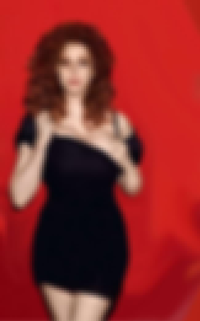 Christina Hendricks Reveals 10... is listed (or ranked) 1 on the list 38 Sexiest Christina Hendricks Pictures