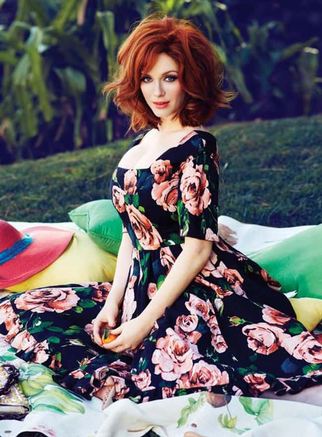 Christina Hendricks Brought On is listed (or ranked) 24 on the list 38 Sexiest Christina Hendricks Pictures