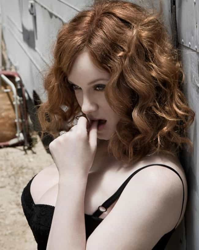 Christina Hendricks Is A Littl... is listed (or ranked) 1 on the list 38 Sexiest Christina Hendricks Pictures