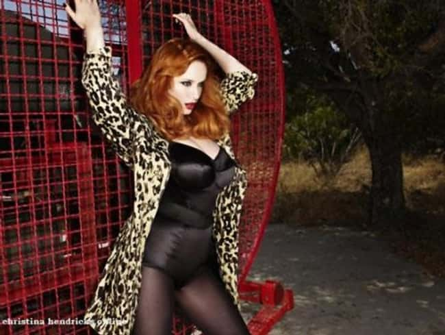 Christina Hendricks Shops The is listed (or ranked) 31 on the list 38 Sexiest Christina Hendricks Pictures