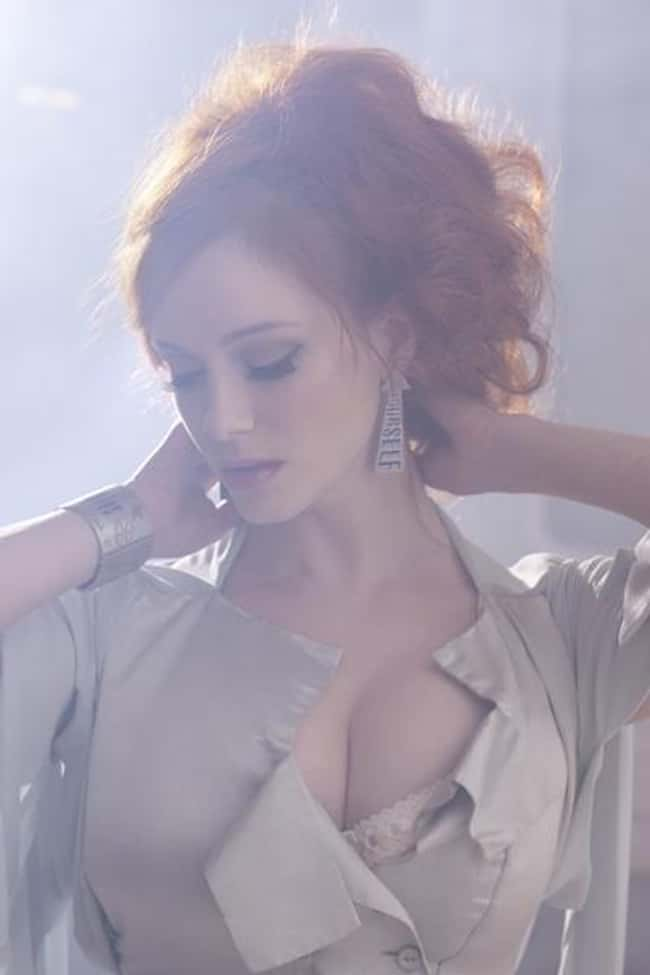 Christina Hendricks Rescued He is listed (or ranked) 10 on the list 38 Sexiest Christina Hendricks Pictures
