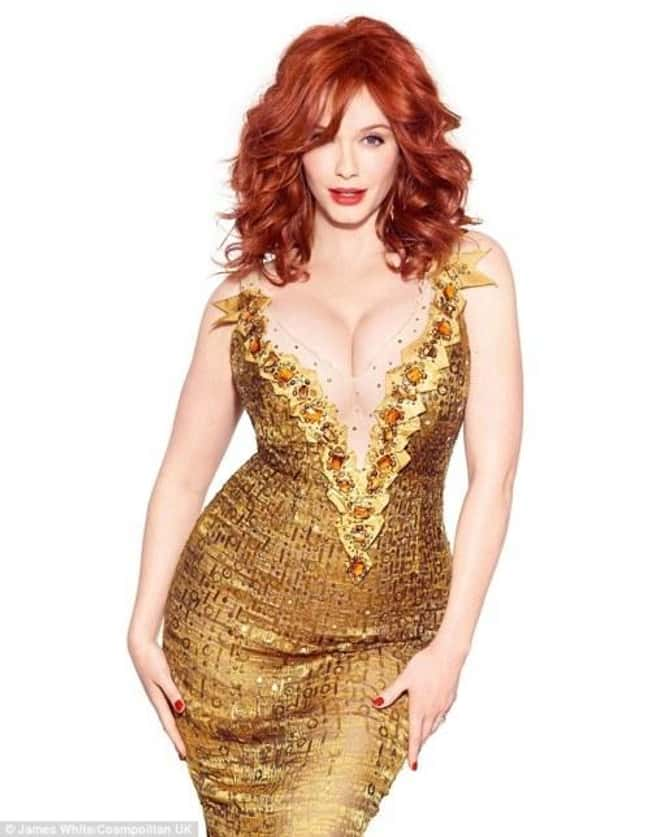 Christina Hendricks Wearing $1 is listed (or ranked) 8 on the list 38 Sexiest Christina Hendricks Pictures