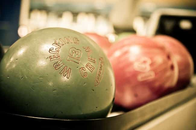 What do a bowling ball and a b... is listed (or ranked) 3 on the list The Funniest Bowling Jokes