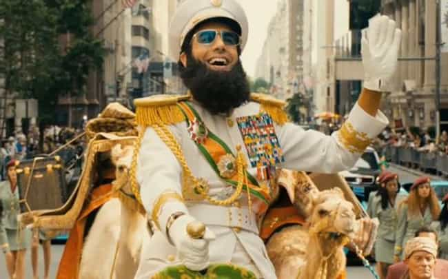 America is listed (or ranked) 4 on the list The Dictator Movie Quotes