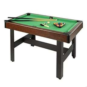 Billiard Table is listed (or ranked) 5 on the list Types of Tables