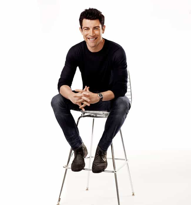Max Greenfield in Black ... is listed (or ranked) 2 on the list Hot Max Greenfield Photos