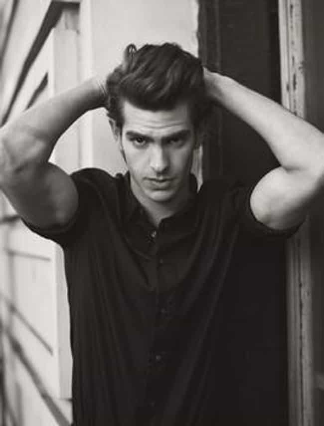 Andrew Garfield in Black... is listed (or ranked) 1 on the list Hot Andrew Garfield Photos