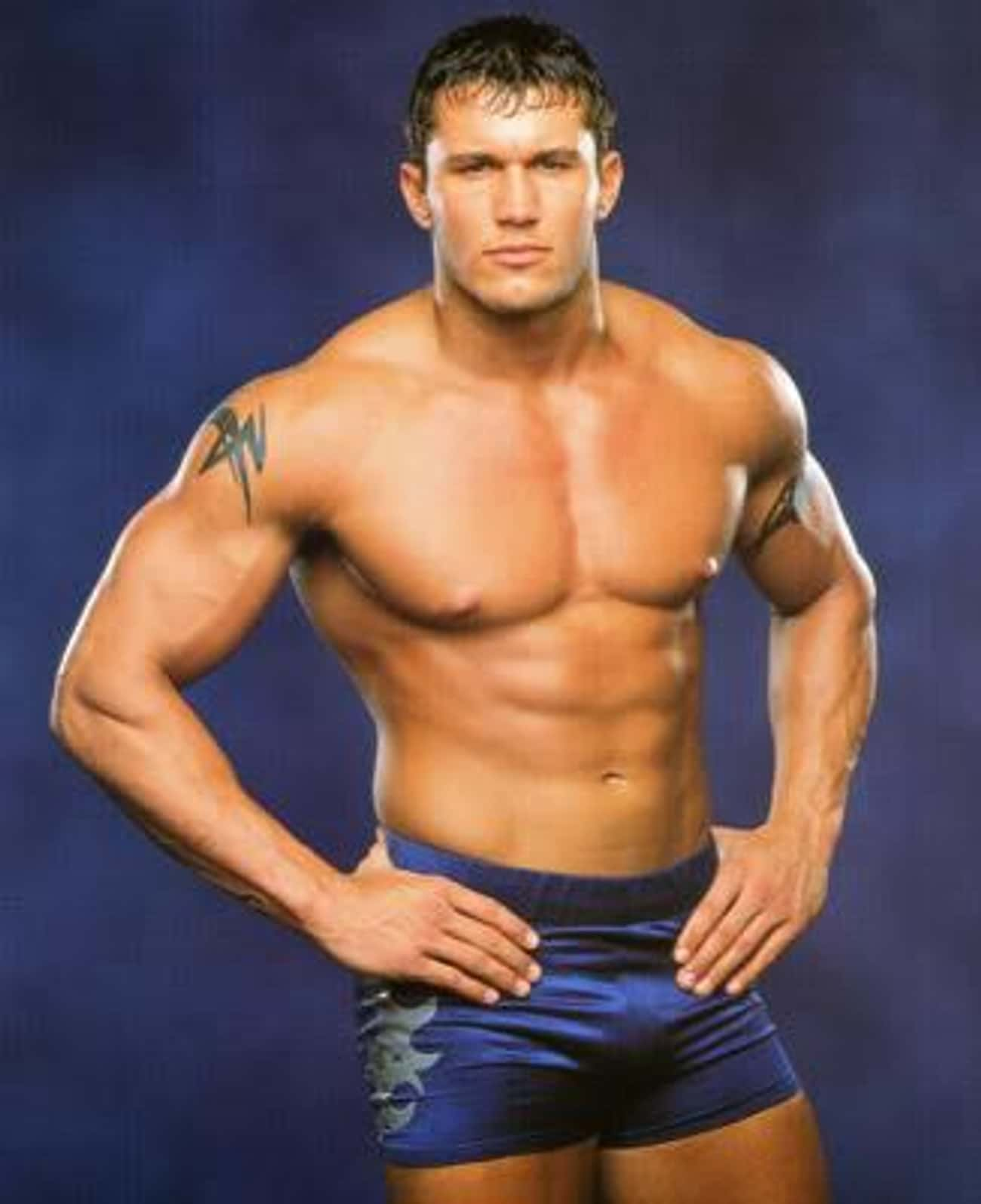 Randy Orton in Blue Trunks is listed (or ranked) 3 on the list Hot Randy Orton Photos