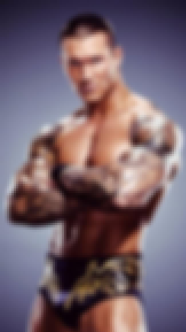 Randy Orton in Blue Tribal Pri... is listed (or ranked) 1 on the list Hot Randy Orton Photos