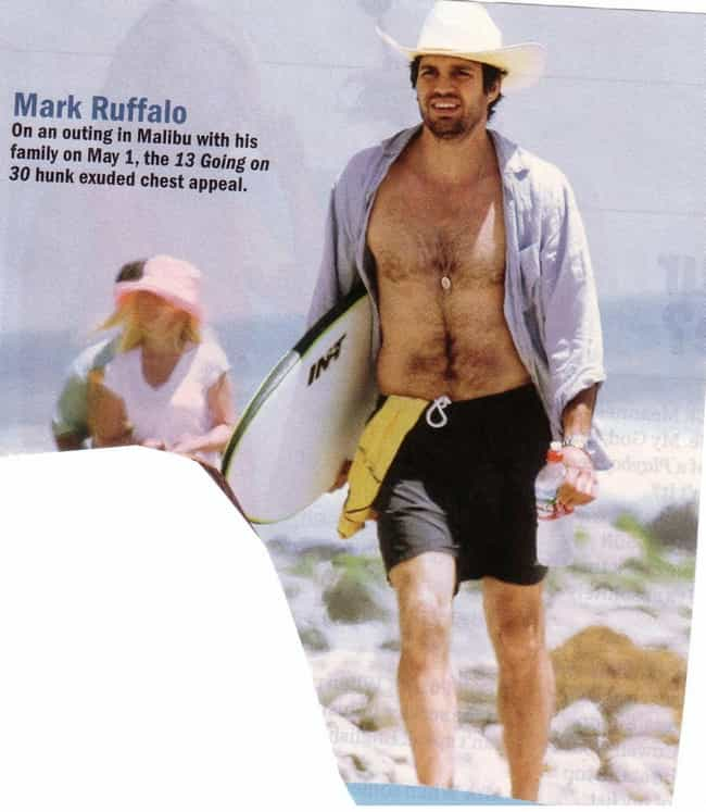 Mark Ruffalo in Levis Beach We... is listed (or ranked) 3 on the list Hot Mark Ruffalo Photos