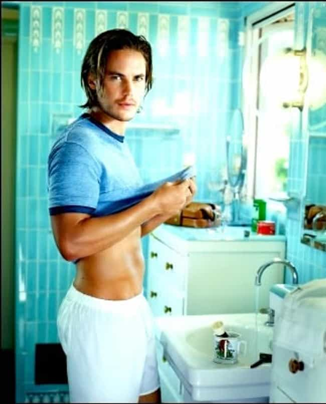 Taylor Kitsch in Faded Blue T-... is listed (or ranked) 2 on the list Hot Taylor Kitsch Photos
