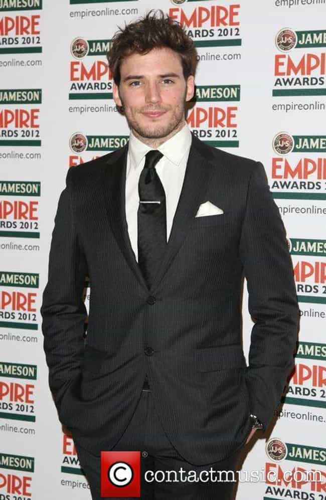 Sam Claflin in Charcoal Stripe... is listed (or ranked) 4 on the list Hot Sam Claflin Photos
