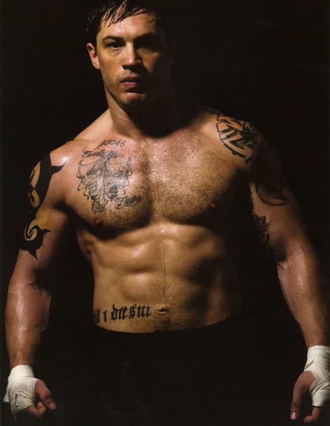 Tom Hardy in Shirtless with Sl... is listed (or ranked) 1 on the list Hot Tom Hardy Photos
