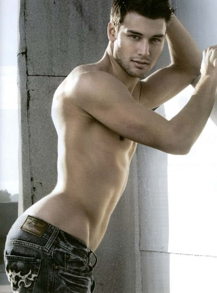 Ryan Guzman in Shirtless with Tribal Jeans