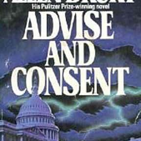 Advise and Consent is listed (or ranked) 3 on the list The Best Selling Novels of the 1960s