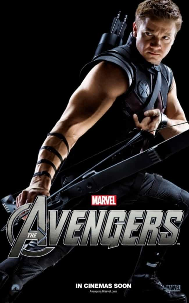 Jeremy Renner in Hawkeye... is listed (or ranked) 1 on the list Hot Jeremy Renner Photos