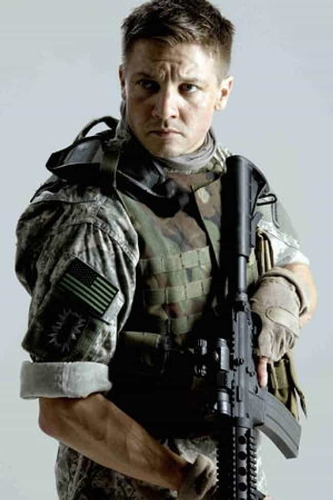 Jeremy Renner in Militar... is listed (or ranked) 4 on the list Hot Jeremy Renner Photos