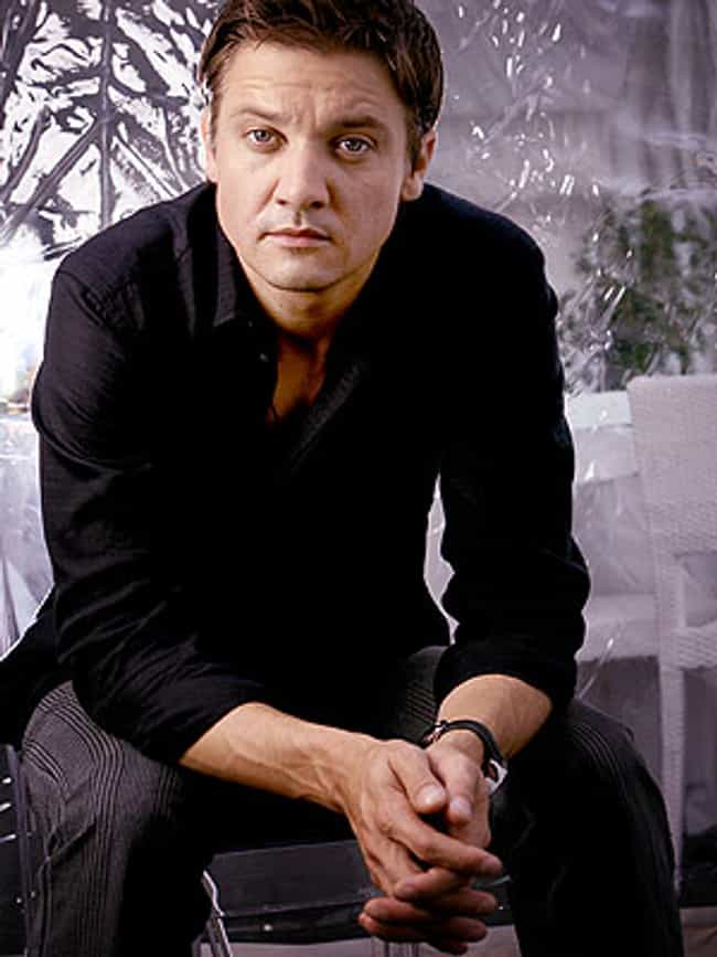 Jeremy Renner in Black L... is listed (or ranked) 8 on the list Hot Jeremy Renner Photos