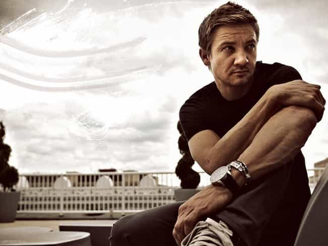Jeremy Renner in Black T... is listed (or ranked) 5 on the list Hot Jeremy Renner Photos