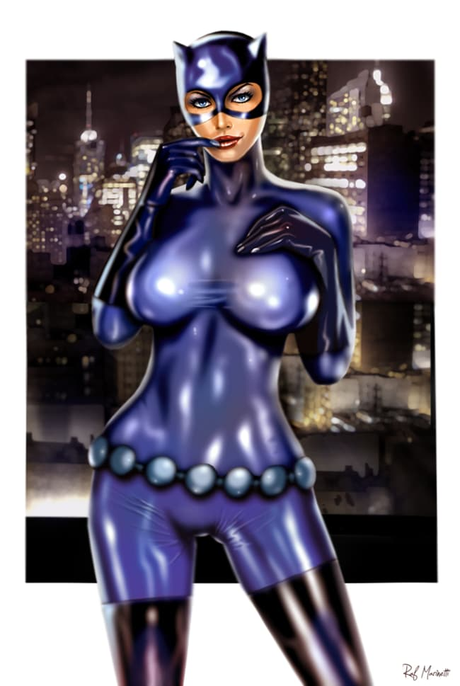 Catwoman In Violet Rubberized Is Listed Or Ranked 1 On The