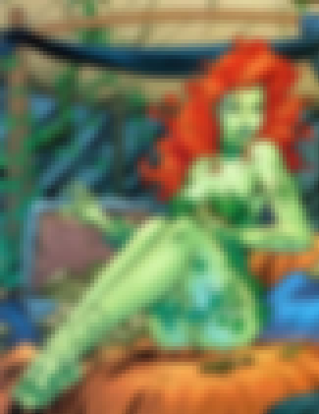 Poison Ivy covered with Green ... is listed (or ranked) 3 on the list Sexy Poison Ivy Pictures & Outfits