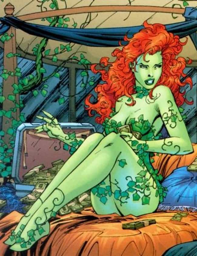 Poison Ivy covered with Green ... is listed (or ranked) 4 on the list The Most Alluring Poison Ivy Pictures