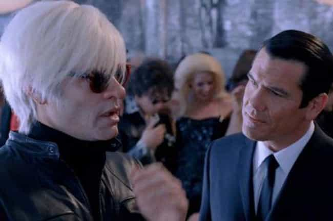 Andy Warhol's One of Us?... is listed (or ranked) 1 on the list Men in Black III Movie Quotes