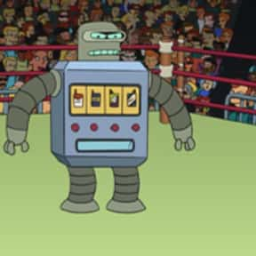 Chain Smoker is listed (or ranked) 25 on the list The Funniest Robots of Futurama