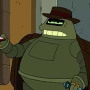 Donbot is listed (or ranked) 8 on the list The Funniest Robots of Futurama
