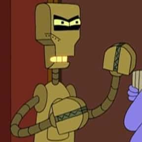 Francis X. Clampazzo is listed (or ranked) 6 on the list The Funniest Robots of Futurama