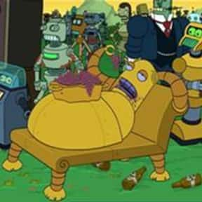 Hedonismbot is listed (or ranked) 3 on the list The Funniest Robots of Futurama