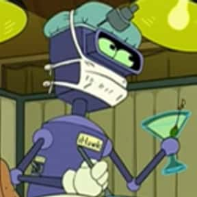 iHawk is listed (or ranked) 22 on the list The Funniest Robots of Futurama
