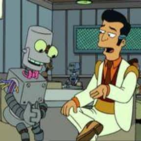 Malfunctioning Eddie is listed (or ranked) 10 on the list The Funniest Robots of Futurama