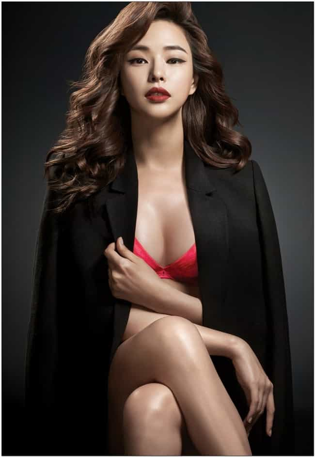 Lee Ha-nui is listed (or ranked) 3 on the list The Most Stunning South Korean Models