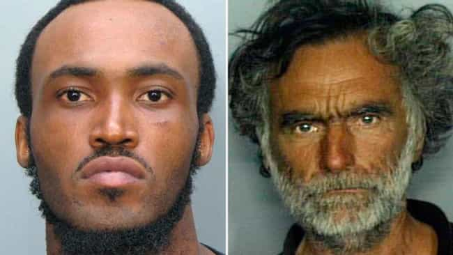 Miami Man Attacks Homeless Bys... is listed (or ranked) 3 on the list The Most Violent Cannibal Attacks In History