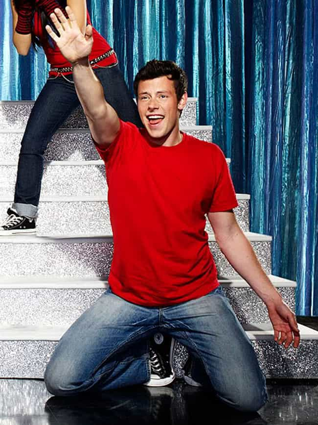 Cory Monteith in Red T-Shirt w... is listed (or ranked) 4 on the list Hot Cory Monteith Photos