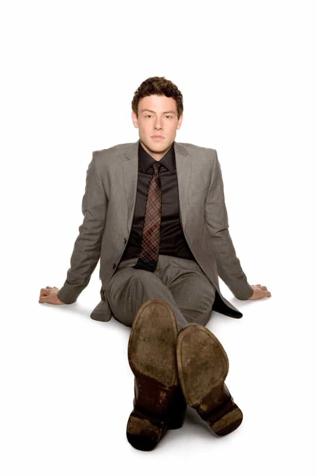 Cory Monteith in Wool Heringbo... is listed (or ranked) 3 on the list Hot Cory Monteith Photos