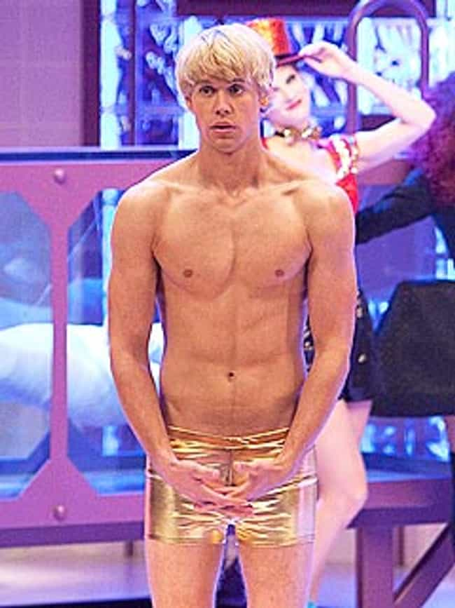 Chord Overstreet in Gold Boxer... is listed (or ranked) 3 on the list Hot Chord Overstreet Photos