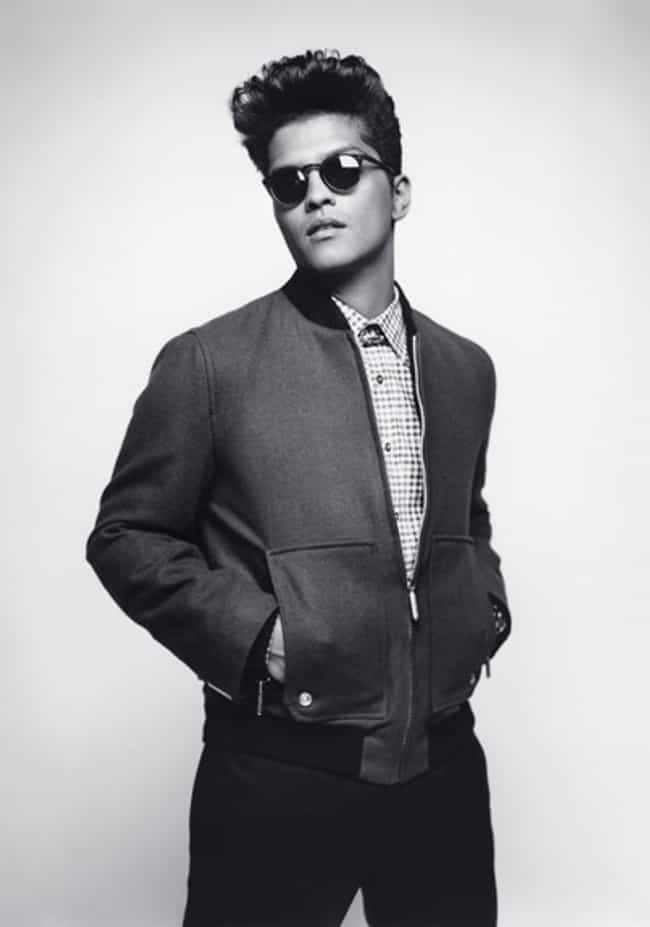 Bruno Mars in Squared Co... is listed (or ranked) 1 on the list Hot Bruno Mars Photos
