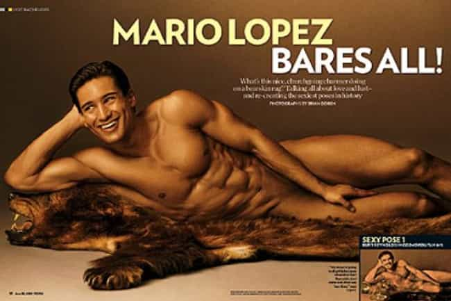 Mario Lopez in Nude Pose... is listed (or ranked) 2 on the list Hot Mario Lopez Photos