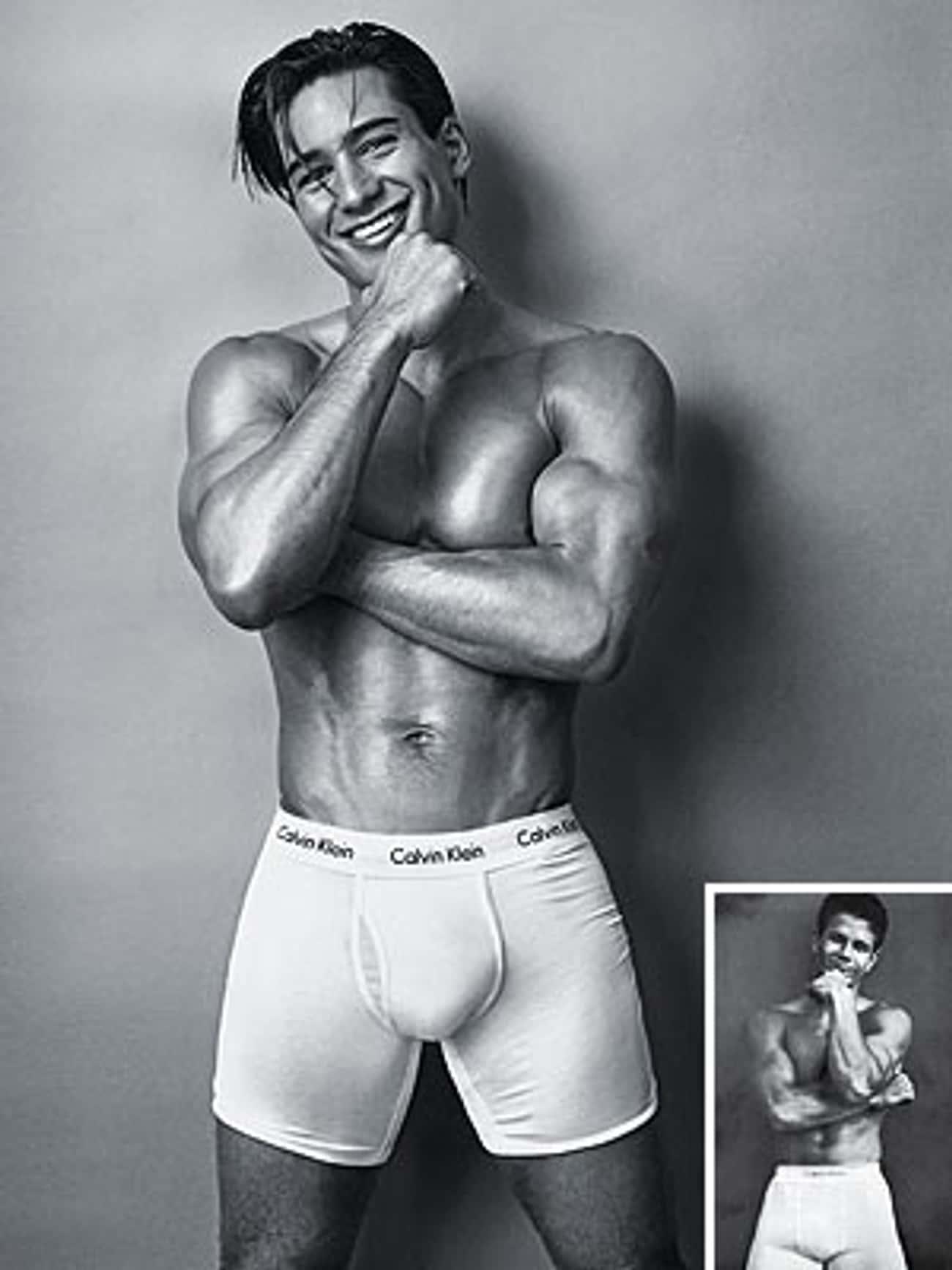 Mario Lopez in Calvin Klein Underwear