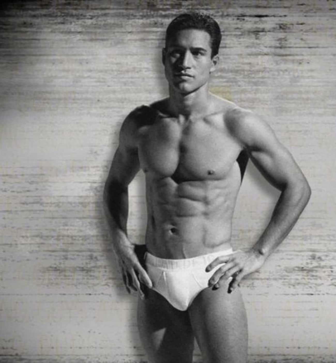 Mario Lopez in Cotton Underwear